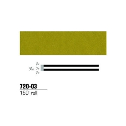 STRIPING TAPE-GOLD METALLIC 3/16