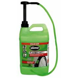 Slime (SLMSB-1G) Slime Tube Sealant, 1 Gallon Bottle, with Pump, for All Tires with Tubes, Non-Toxic, Single Bottle at Sears.com