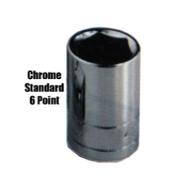 SOC 19MM 1/2D 6PT