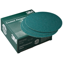 PRODUCTION DISCS STIKIT GREEN CORPS 36E 8IN 50/BX