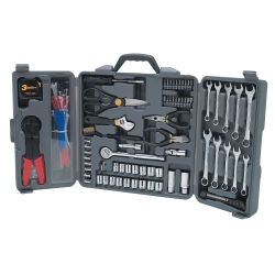 TOOL SET 265PC TRI-FOLD W/CABLE TIES