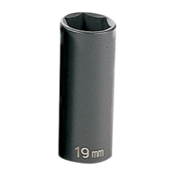SOC 19MM 3/8D IMP 6PT DP