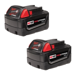 M18 REDLITHIUM XC Battery 2 Pack