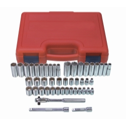 SOCKET SET 3/8 DRIVE 47 PIECEE 12 POINT