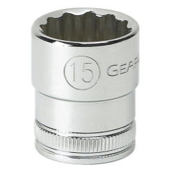 SOC 15MM 3/8D 12PT