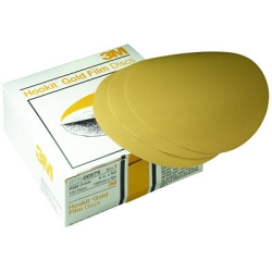GOLD FILM DISCS HOOKIT P320 6IN 100PK