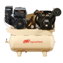 Ingersoll Rand 14 HP Gas Drive Air Compressor - Kohler Engine
