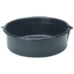 DRAIN PAN PLASTIC 13IN. DIA. 4IN. HIGH
