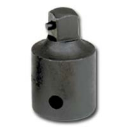SOCKET IMPACT ADAPTER 1/2 FEMALE X 3/8 MALE