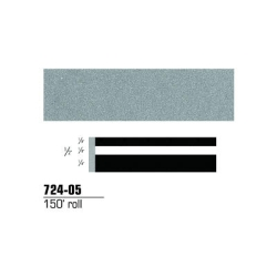 STRIPING TAPE-SILVER METALLIC 1/2