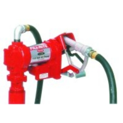 Tuthill Transfer (FILFR610C) 115 Volt Heavy Duty Fuel Transfer Pump with Nozzle