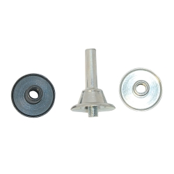 MANDREL FOR RADIAL BRISTLE DISCS