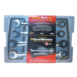 Gearwrench WRENCH RATCHING COMB SET 4PC 21-25MM GREARWRENCH