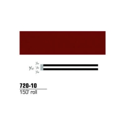 STRIPING TAPE-BURGUNDY 3/16