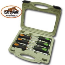 SCREW DRIVER 6 PC SET CATSPAW W/BM CASE