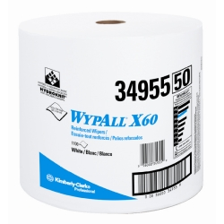 WYPALL X60 WIPERS WHITE JUMBO ROLL KREW 500
