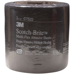 SCOTCH-BRITE ABRASIVE SHEETS UTRA-FI 60ROLL