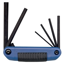 ERGO FOLD HEX KEY SET 6PC METRIC