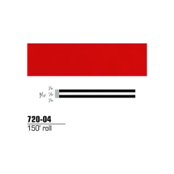 STRIPING TAPE--RED 3/16