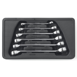 6PC SAE FLARE NUT WRENCH SET