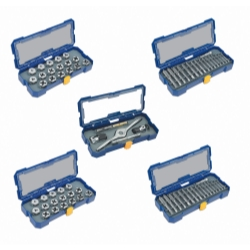 Hanson (HAN4935354) 76 Piece Full Coverage SAE and Metric Plug Tap and Die...