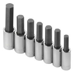 SOCKET SET HEX BIT 7 PC 1/2
