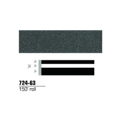STRIPING TAPE-CHARCOAL METALLIC 1/2
