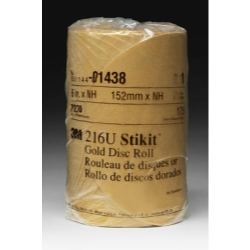 GOLD DISC ROLLS STIKIT P180G 6IN 175/ROLL