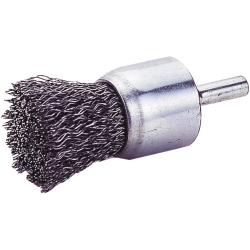 END BRUSH, CRIMPED WIRE 3/4