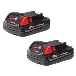 M18 REDLITHIUM Compact Battery 2 Pack