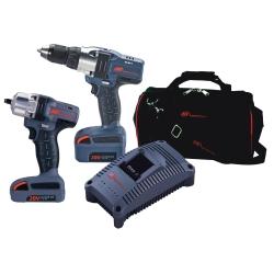 IQv20 2-Piece Cordless Combo Kit - Impact/Drill