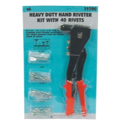 HD HAND RIVET KIT W/40 RIVE