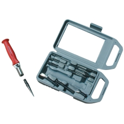 11 PIECE QUICK CHANGE PUNCH & CHISEL SET