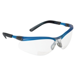 3M Automotive 3M BX Reader Safety Glasses with I/O Mirror Lens, Blue Frame and +2.0 Diopter at Sears.com
