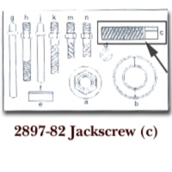 JACK SCREW FOR KDT2897 LETTER (C)