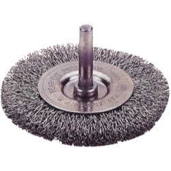 CRIMPED WIRE WHEEL BRUSH, 1 1/2
