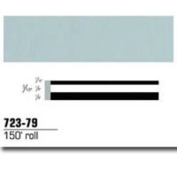 STRIPING TAPE-PALE GRAY 5/16