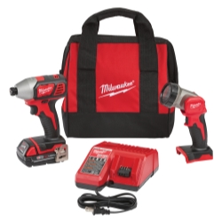 M18 Impact Driver & LED Work Light Special Kit