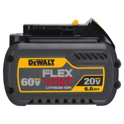 FLEXVOLT 20/60V MAX BATTERY PACK 6.0AH