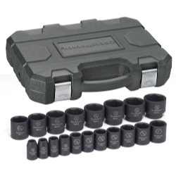 "KD Tools (KDT84932) 19 Pc. 1/2"" Drive Impact Socket Set SAE at Sears.com"