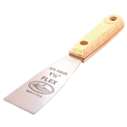 SCRAPER FLEXIBLE 1-1/2IN. WOOD HANDLE