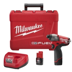 M12 FUEL 1/4 Hex Impact Driver Kit
