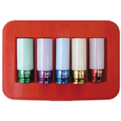5PC NO SCRATCH LUG NUT SET