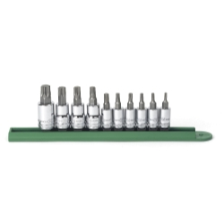 10PC TORX BIT SOCKET SET