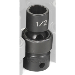 SOC 1/2 3/8D IMP UNIV 12PT BLK