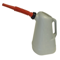 6 QT OIL DISPENSER RED SPOUT