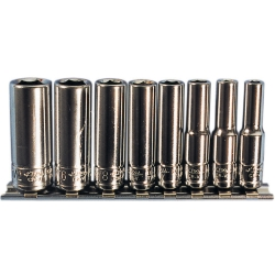 SOCKET SET 1/4IN. DRIVE 8 PC SAE 