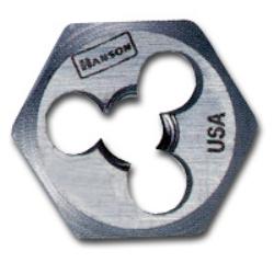 "Hanson High Carbon Steel Hexagon 5/8"" Across Flat Die 5mm-0.90 HAN6323"