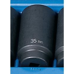 Grey Pneumatic SOC 35MM 1/2D IMP 6PT DP