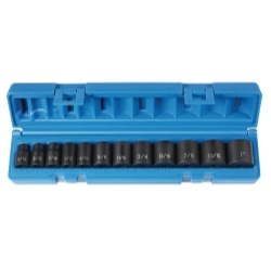 12 PC 3/8 DRIVE FRAC STANDARD LENGTH SET